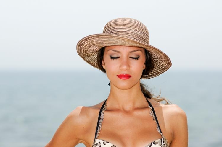 Make-up da spiaggia