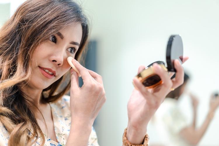 Che cos'è il baking make-up