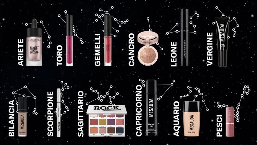 oroscopo e make-up Mesauda